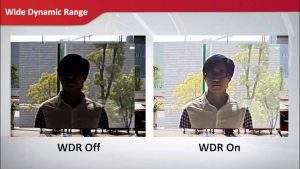 WDR camera Hikvision